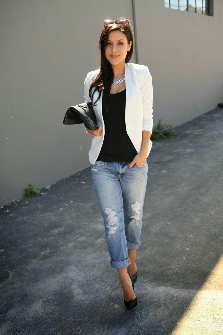 Fonkelnieuw How to wear: de witte blazer ⋆ Fashion emergency QK-25